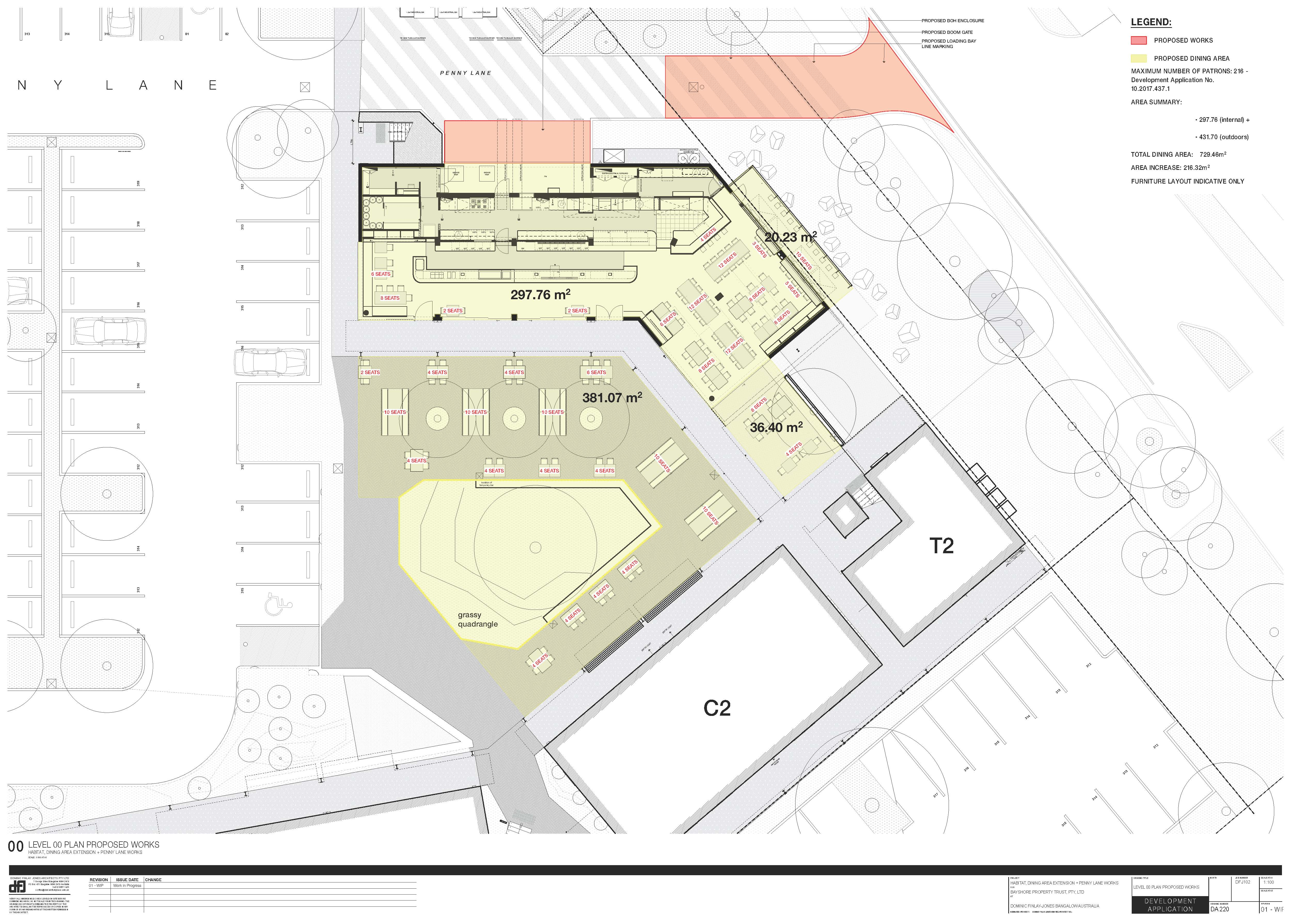 Barrio Outdoor Space Proposed Works